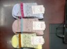 Pure cotton women's fine socks 2201
