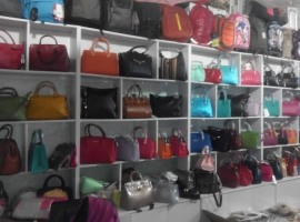 Handbags, clutches on the market Khorgos, boutique 1141