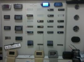 Автомобильные аудиосистемы, мониторы в подголовниках, шторки на номер на МЦПС Хоргос
