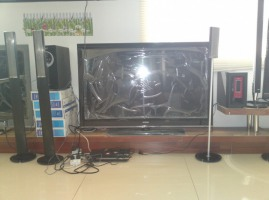 Телевизор Samsung Orator за 56000тг 110 см. на МЦПС Хоргос